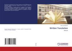 Bookcover of Written Translation