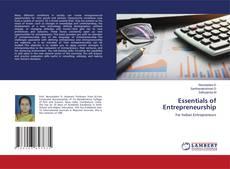 Обложка Essentials of Entrepreneurship