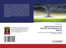 Bookcover of Legal Framework for Disaster Management in Nigeria