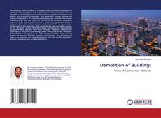 Bookcover of Demolition of Buildings