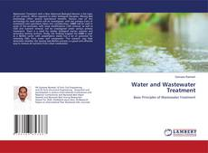 Couverture de Water and Wastewater Treatment