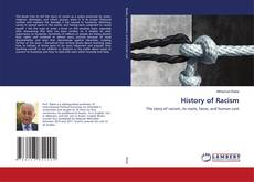 Bookcover of History of Racism