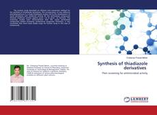 Synthesis of thiadiazole derivatives的封面
