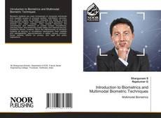 Couverture de Introduction to Biometrics and Multimodal Biometric Techniques
