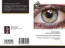 Bookcover of Occlusions veineuses rétiniennes