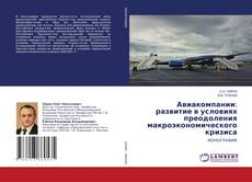 Bookcover of Авиакомпании: развитие в условиях преодоления макроэкономического кризиса