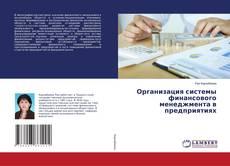 Организация системы финансового менеджмента в предприятиях kitap kapağı