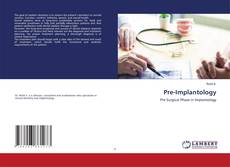 Couverture de Pre-Implantology
