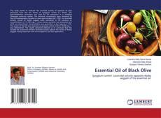 Capa do livro de Essential Oil of Black Olive