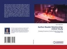 Author-Reader Relationship: A Brief Study kitap kapağı