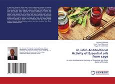 Bookcover of In vitro Antibacterial Activity of Essential oils from sage