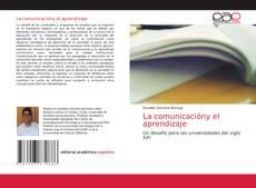 Обложка La comunicacióny el aprendizaje