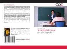 Обложка Sororidad docente