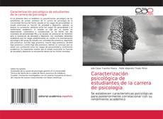 Copertina di Caracterización psicológica de estudiantes de la carrera de psicología