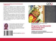 Capa do livro de Programa de Educación Nutricional para adolescentes: