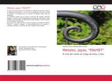 """Обложка Metales, joyas, """"PAUYET"""""""