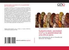 Обложка Subjetividad, sociedad civil y la posibilidad de una ética para