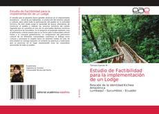 Обложка Estudio de Factibilidad para la implementación de un Lodge