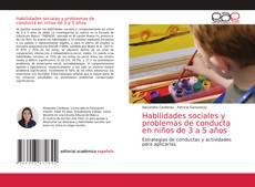 Bookcover of Habilidades sociales y problemas de conducta en niños de 3 a 5 años