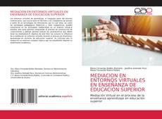 Portada del libro de MEDIACION EN ENTORNOS VIRTUALES EN ENSEÑANZA DE EDUCACION SUPERIOR