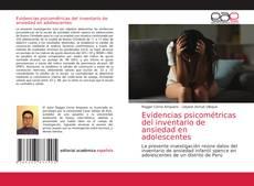 Bookcover of Evidencias psicométricas del inventario de ansiedad en adolescentes
