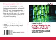 Capa do livro de Sistema de depuración con algas verdes para tratamiento de agua