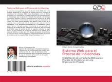 Bookcover of Sistema Web para el Proceso de Incidencias