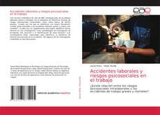 Capa do livro de Accidentes laborales y riesgos psicosociales en el trabajo