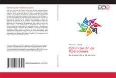 Capa do livro de Optimización de Operaciones