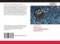 Copertina di Atención psicopedagógica específica