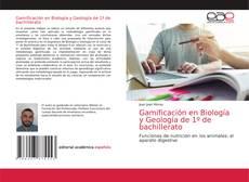 Gamificación en Biología y Geología de 1º de bachillerato kitap kapağı