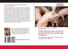 Capa do livro de Instrumento para evaluar el bienestar en cerdos de engorda