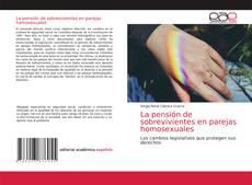 Capa do livro de La pensión de sobrevivientes en parejas homosexuales