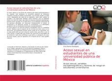 Capa do livro de Acoso sexual en estudiantes de una universidad pública de México