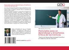 Postulados para un Aprendizaje y Enseñanza Crítica de las Ciencias的封面