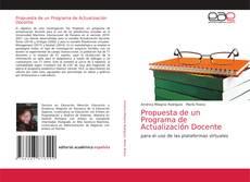 Bookcover of Propuesta de un Programa de Actualización Docente