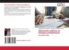 Copertina di Educación pública en tiempos pandémicos