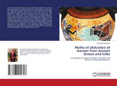 Capa do livro de Myths of abduction of women from Ancient Greece and India