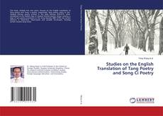 Capa do livro de Studies on the English Translation of Tang Poetry and Song Ci Poetry