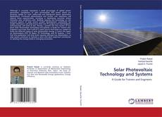 Capa do livro de Solar Photovoltaic Technology and Systems