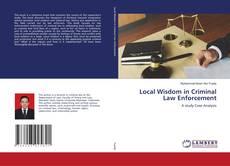 Portada del libro de Local Wisdom in Criminal Law Enforcement