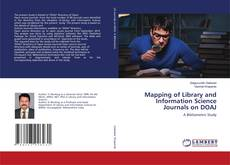 Buchcover von Mapping of Library and Information Science Journals on DOAJ