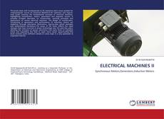 Bookcover of ELECTRICAL MACHINES II