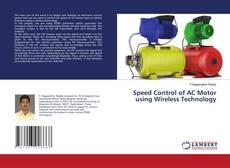 Capa do livro de Speed Control of AC Motor using Wireless Technology