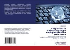 Современная инфраструктура информационной экономики kitap kapağı