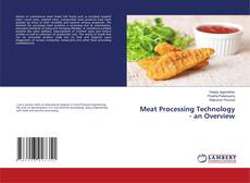 Bookcover of Meat Processing Technology - an Overview