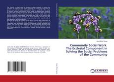 Bookcover of Community Social Work. The Ecclesial Component in Solving the Social Problems of the Community