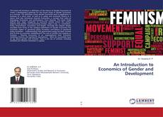 Bookcover of An Introduction to Economics of Gender and Development