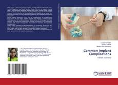 Bookcover of Common Implant Complications