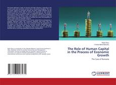 Bookcover of The Role of Human Capital in the Process of Economic Growth